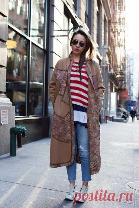 Вариант переделки пальто / Пэчворк / Модный сайт о стильной переделке одежды и интерьера