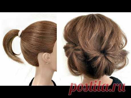 12 Причесок на Короткие волосы за 2 минуты. Пошагово! 12 Hairstyles for short hair in 2 minutes.