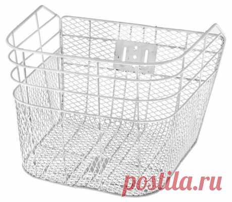 Купить Велокорзина JL-027 Белый по низкой цене с доставкой из маркетплейса Беру