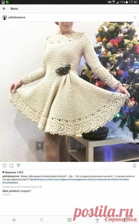 вязаные платья   Наталья Шестакова   Фотографии и советы на Постиле 8c57c19862a