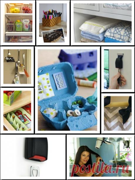 Другие 10 полезных идей вам в помощь  1. В хозяйстве могут пригодиться даже тубы от рулонов туалетной бумаги. Их нужно вставить в коробку, чтобы там всегда был порядок среди большого количества карандашей и фломастеров:  2. Ключницу можн…