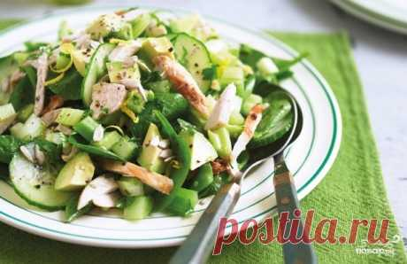 Салат с индейкой и авокадо - кулинарный рецепт с фото на Повар.ру