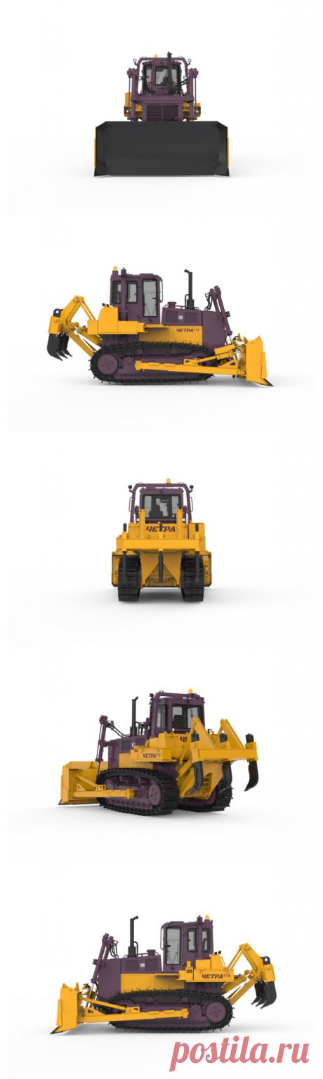 Купить бульдозер ЧЕТРА Т15 в Минске | Бульдозеры ЧЕТРА Т 15, технические характеристики, фото, цена