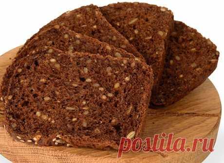 Ржаной 4-зерновой хлеб для завтрака