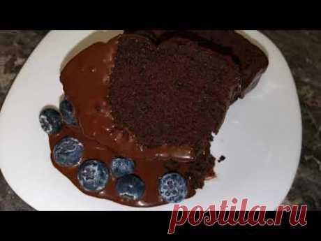 Потрясающий шоколадный кекс на пиве - YouTube