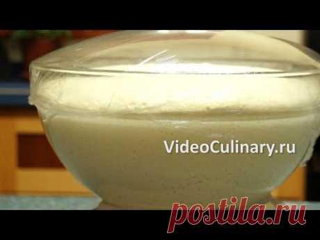 Простоe дрожжевое тесто - Лучший Рецепт от Бабушки Эммы