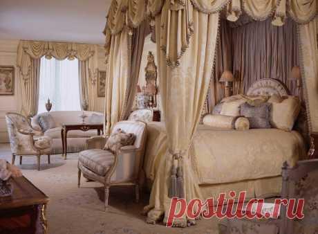 Спальня в стиле барокко (35 фото) ~ ALL-DEKOR