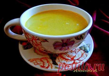 Суп-пюре из гороха с овощами | Русская кухня