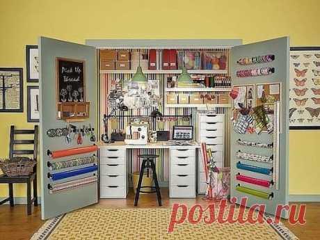 Рабочее место рукодельницы! #portnishka #для_вдохновения