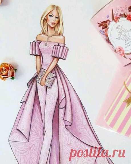 (5) Pinterest - Follow me tag a friend #art #illustration #drawing #draw #picture #artist #sketch #sketchbook #paper #pen #pencil #artsy #inst   Dress designs