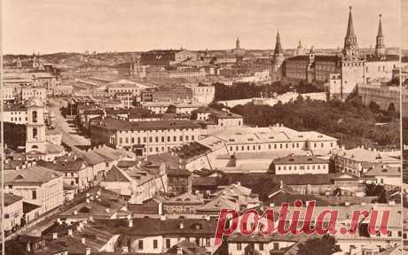 Вид с храма Христа Спасителя: как выглядела Москва в 1867 году: