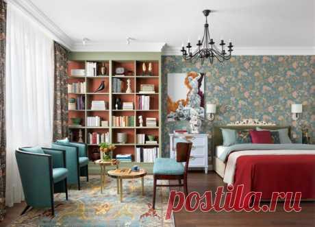 Однокомнатная квартира, 47 м2 Дизайн: Олеся Шляхтина Смотреть полностью: