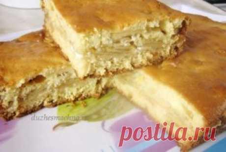 Самый быстрый и вкусный пирог с яблоками - interesno.win Быстрый пирог с яблоками – то, что надо к чаю на обед...