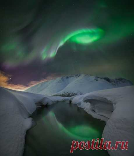 Долина Малого Вудъявра. Мурманская область, горы Хибины. Автор фото – Виталий Истомин: