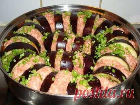Лучшие кулинарные рецепты : Баклажаны по-турецки