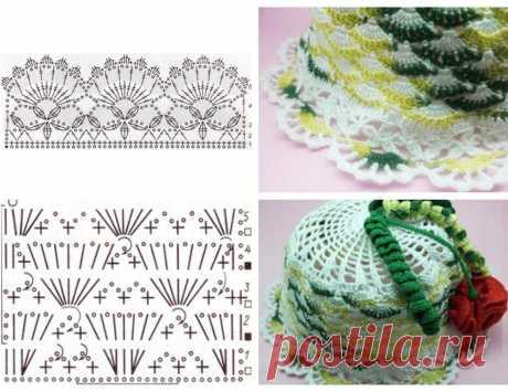 Панамка крючком для девочки, схема и описание лучших моделей, варианты декора
