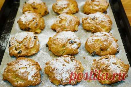 Самое простое и вкусное печенье с яблоками за 30 минут: приготовить быстрее, чем сходить в магазин | Мастерская идей | Яндекс Дзен