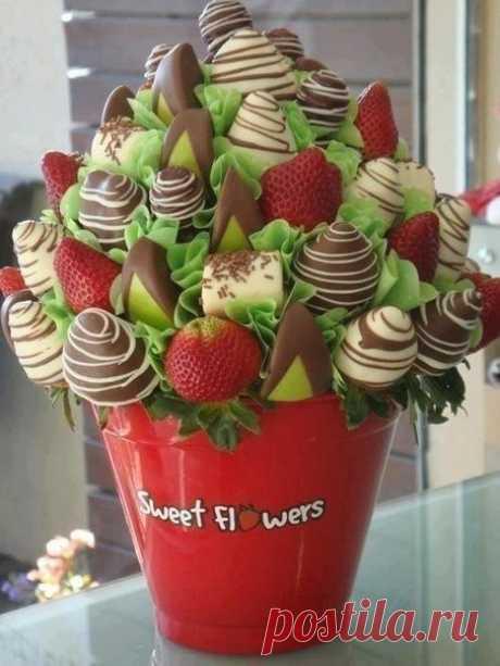 Tasty bouquet!