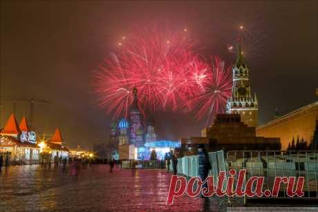 Как встречали Новый год на Красной площади | ФОТО НОВОСТИ