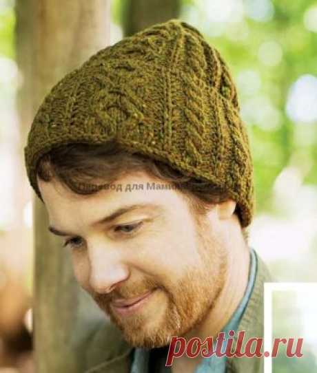 Вязаная спицами шапка Forge от Джареда Флада | Мамины-ручки.рф