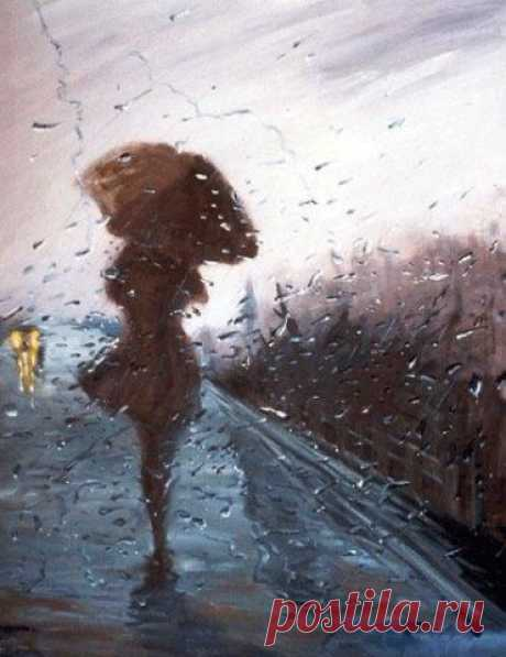 I love rains... their low whisper about love....