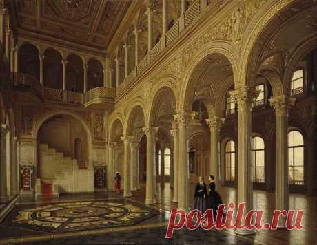 Tutukin Piotr - Interiors of the Winter Palace. The Pavilion Hall | Pinterest • el catálogo Mundial de las ideas