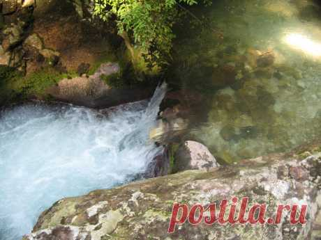 Перекаты на горных реках