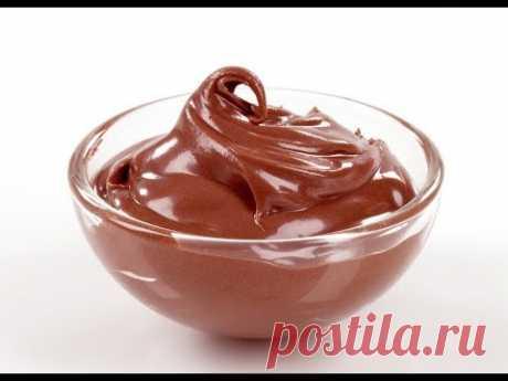 Шоколадный крем очень вкусный и нежный