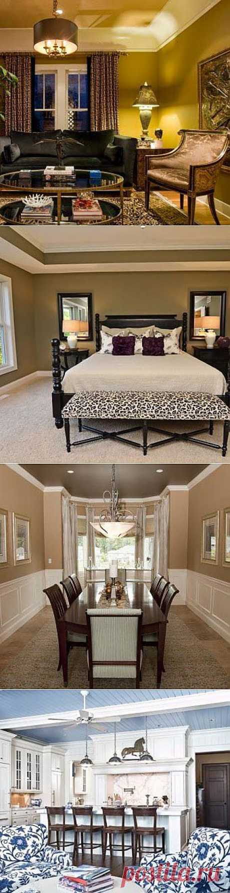 12 design ideas for a ceiling - we Learn to Do All to Sami