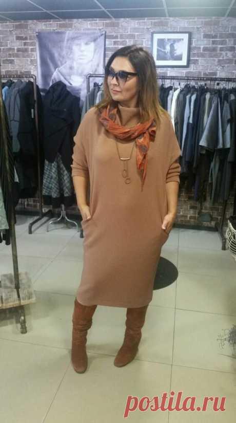 Зимние платья Бохо 2020: Модные фасоны для пышных дам