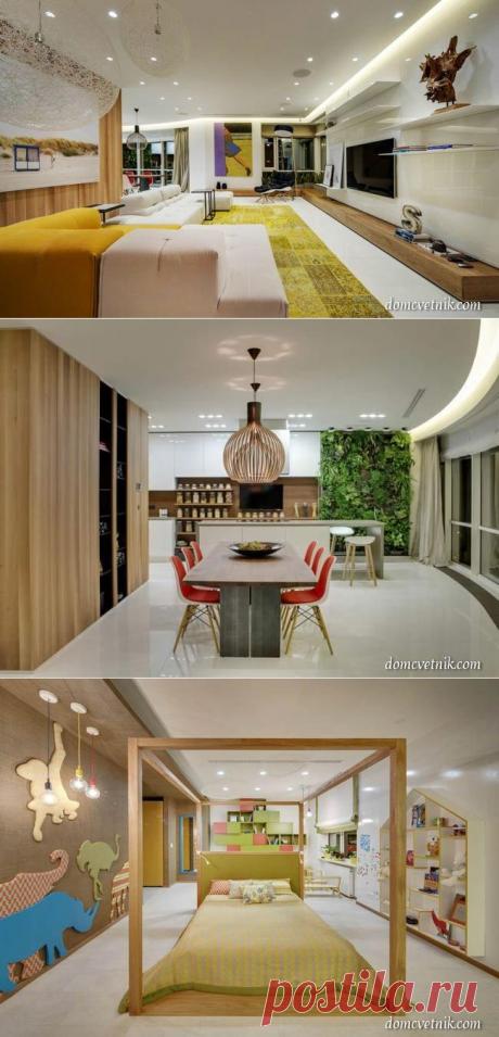 Saz Apartment: восхитительный дизайн квартиры в Москве 2B.GROUP | domcvetnik.com