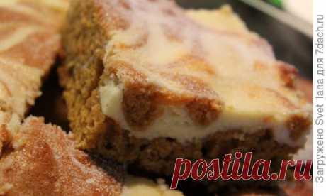 Тыквенные пирожные с кремом и пряностями - пошаговый рецепт приготовления с фото