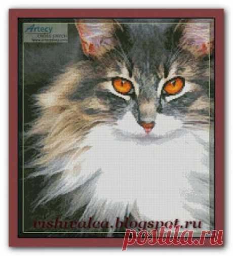 "Вышивалка: Схема вышивки ""Artecy"" ""Kitty"""