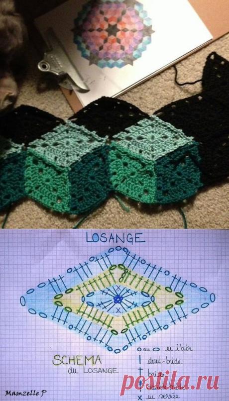 Идея для коврика.