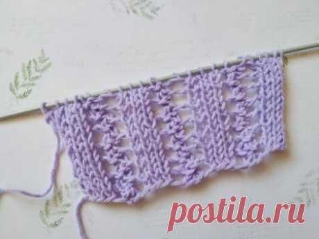 Отличный узор спицами для вязания летних вещей » «Хомяк55» - всё о вязании спицами и крючком