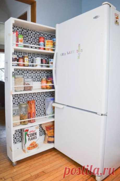 Красиво и практично: идеи хранения продуктов на кухне и в кладовке