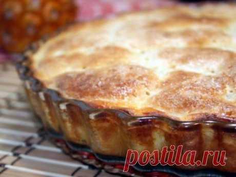 Французский сахарный пирог / Простые рецепты