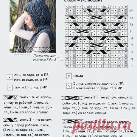 Красивый жилет спицами — Красивое вязание