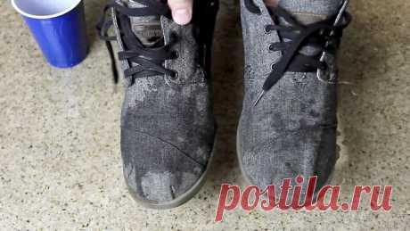Как сделать матерчатую обувь водонепроницаемой | Своими руками