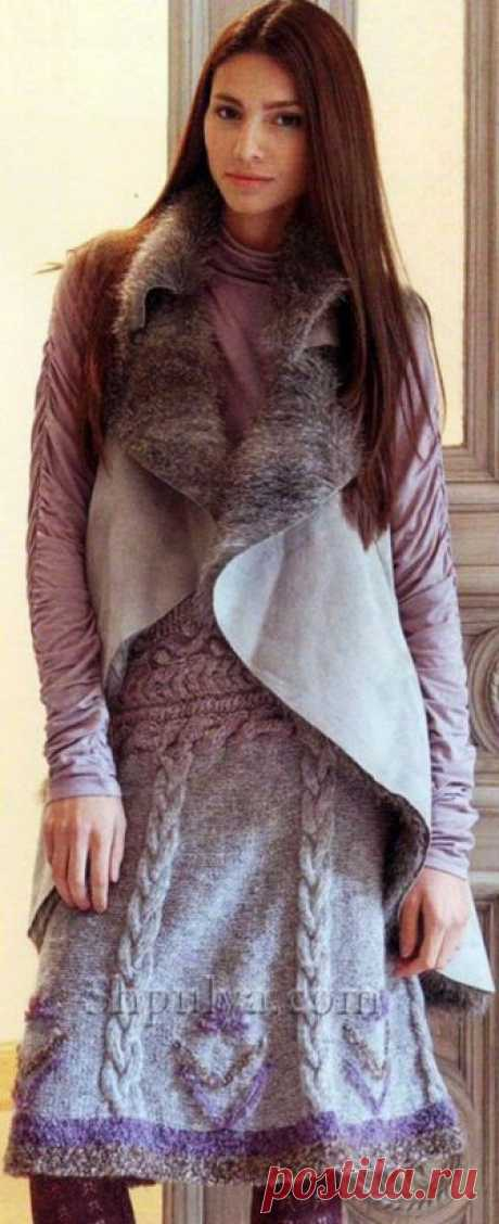 Вязаные юбки - SHPULYA.com