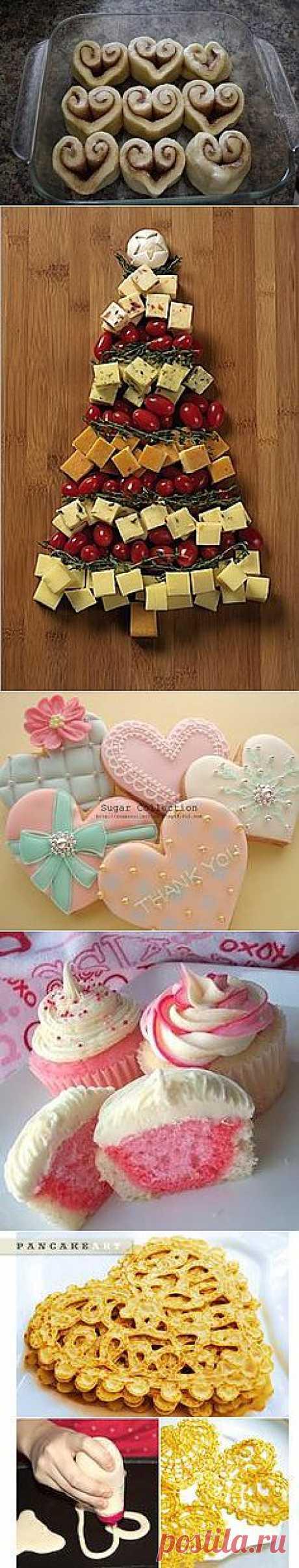Heart Cinnamon Rolls = LOVE | Food - Breakfast