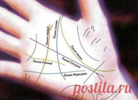 Las líneas únicas y los signos en la mano \/ la Mística