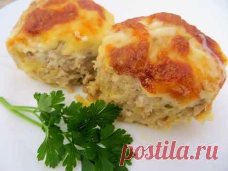 Картофельно-мясные котлеты в духовке – пошаговый рецепт с фотографиями