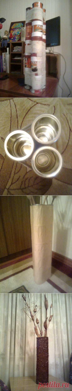 Напольная ваза | Золотые Руки