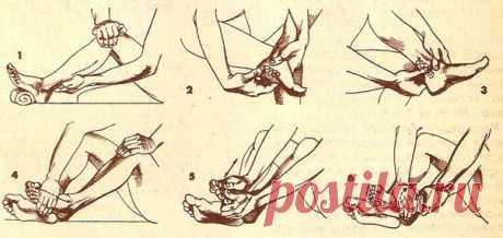 САМОМАССАЖ ДЛЯ АКТИВАЦИИ КРОВОТОКА В НОГАХ.  Предлагаемый самомассаж активизирует кровоток в пальцах, ступнях, в коленных, голеностопных суставах ног и мышцах поясничного отдела. Это эффективный метод профилактики варикозного расширения вен, за…