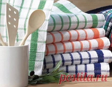 Как отстирать кухонные полотенца и удалить с них даже застарелые пятна. Полотенца будут, как новые! Укухонных полотенец такая ужсудьба— они находятся взоне риска ипостоянно пачкаются. Пятна накухонных...