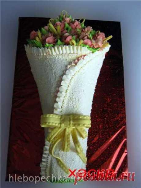 Торт «Букет цветов» Мастер-класс - рецепт с фото на Хлебопечка.ру