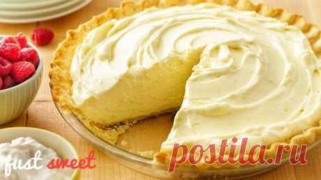 Вкуснейший пирог со сгущенным молоком за 30 минут | Just Sweet | Яндекс Дзен