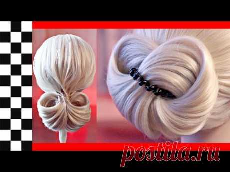 9 elegant and fast hairdresses on an elastic band