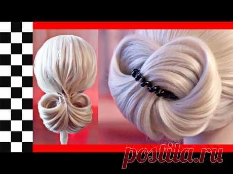 9 элегантных и быстрых причёсок на резинке